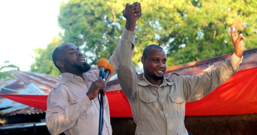 CHADEMA wafungua kampeni Mtambile.