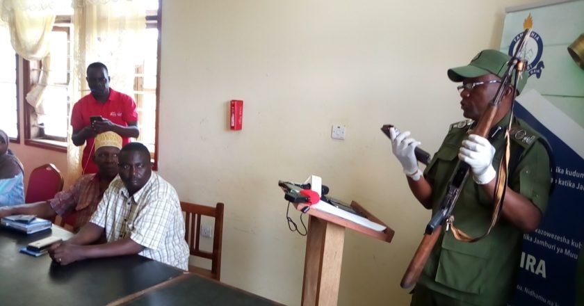 Mwili wa aliekuwa askari wa kikosi cha KVZ wapatikana pamoja na bunduki.