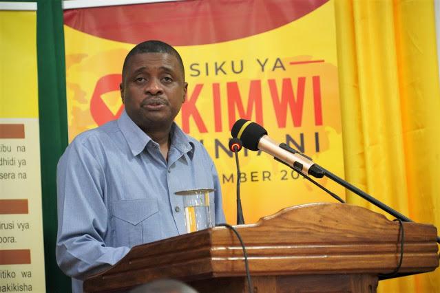 Makamu wa Pili wa Rais wa Zanzibar: Vijana kuanzia sasa tieni nia ya kukataa kuwa waathirika wa Virusi vya Ukimwi.