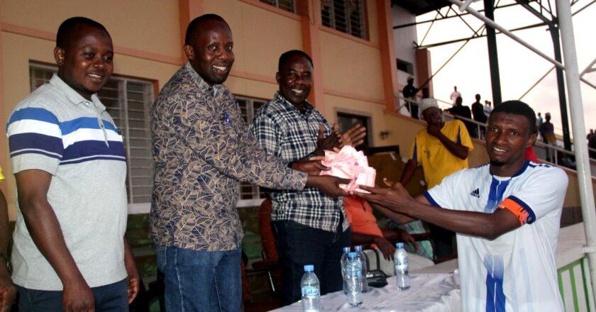 Mchomanne United mabingwa bonanza la Bahari Fm Radio