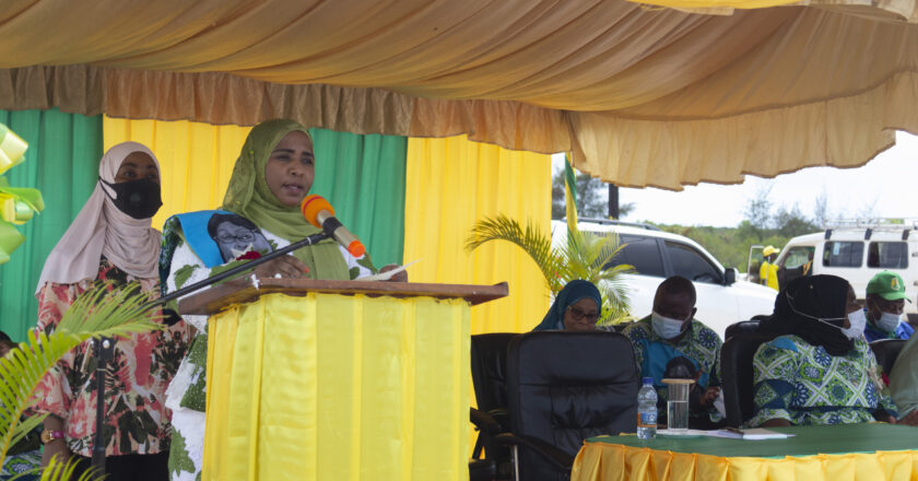 Mama Sharifa mgeni rasmi kilele cha matembezi ya mshikamano ya kumuunga mkono mwenyekiti wa CCM Taifa.