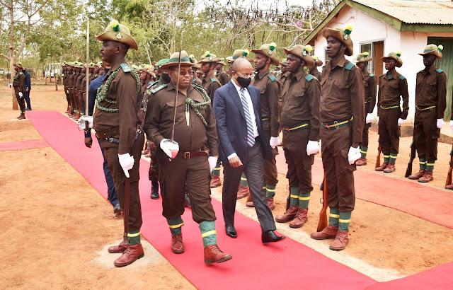 Rais wa Zanzibar na Mwenyekiti wa Baraza la Mapinduzi Mhe.Dk.Hussein Ali Mwinyi Amefungua Miradi Minne ya Jeshi la Magereza Tanzania Gereza la Kingolwira Morogoro.